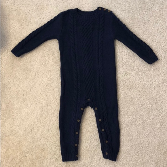 Gap One Pieces Cable Knit Sweater Onesie Poshmark